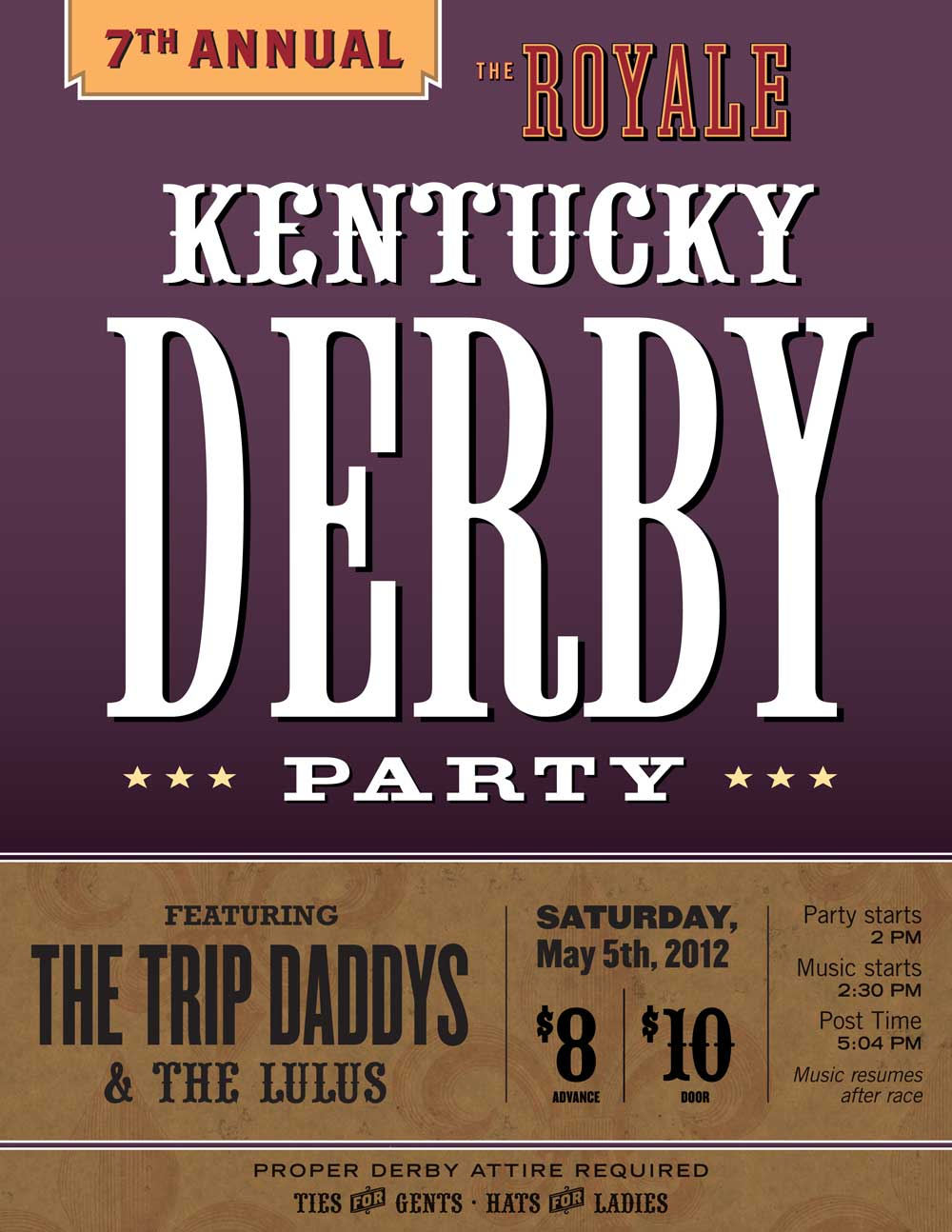 7th Annual Kentucky Derby Party