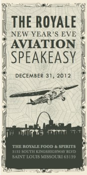 Royale Aviation Speakeasy New Year's Eve Party!